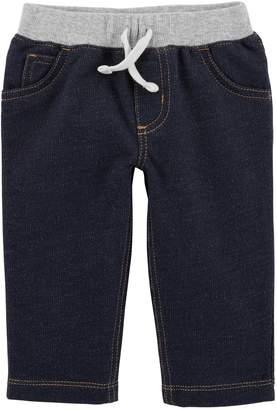 Carter's Baby Boy Denim Pull-On Pants