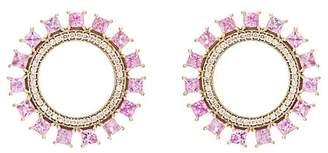 Ileana Makri Women's Glimmer Sun Stud Earrings