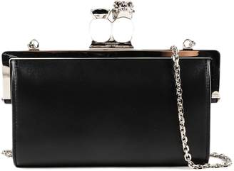 Alexander McQueen Chain Evening Shoulder Bag