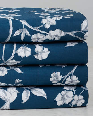 Whit & Alex Toile Blue With Anise Sheet Set
