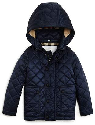 Check Lined Quilted Jacket Girl Shopstyle