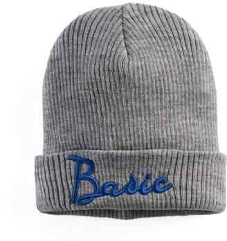 "Mudd Women's Embroidered ""Basic"" Beanie"