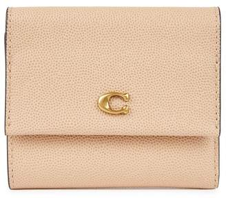 Coach Pebbled Leather Wallet