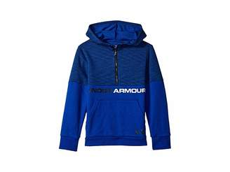 Under Armour Kids Double Knit 1/2 Zip Hoodie (Big Kids)
