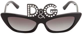 Dolce & Gabbana Studded Acetate Sunglasses