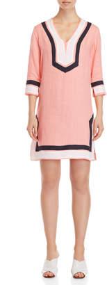 Pepito'S Labin V-Neck Linen Dress
