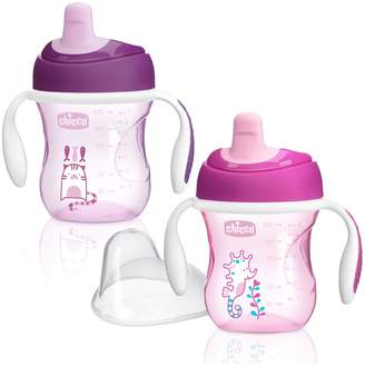 Chicco NaturalFit Semi Soft Spout Trainer Sippy Cup in Assorted Colors