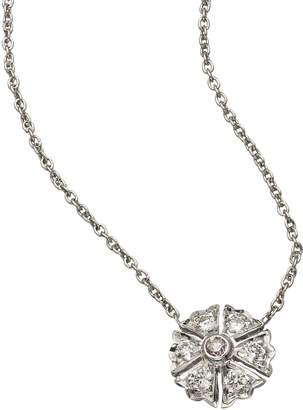 Couture Sethi Flower Diamonds Pendant Necklace