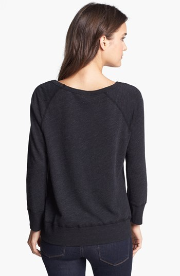 James Perse 'Vintage' French Terry Sweatshirt