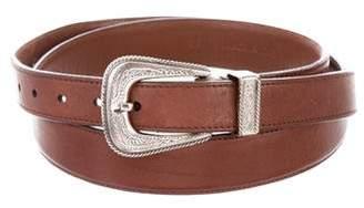Brunello Cucinelli Western Leather Belt
