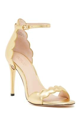 Rachel Zoe Ava Scalloped Stiletto Sandal