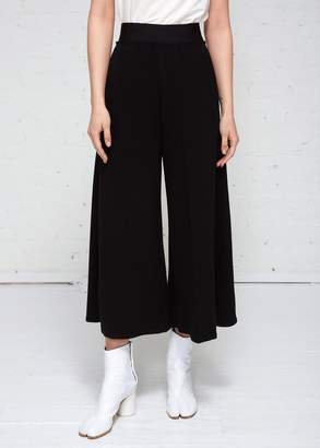 MM6 MAISON MARGIELA Structured Twill Jersey Trousers