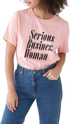 ban.do Serious Business Woman Classic Tee