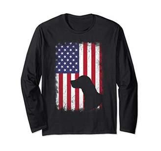 English Setter American Flag Shirt USA Patriotic Shirt