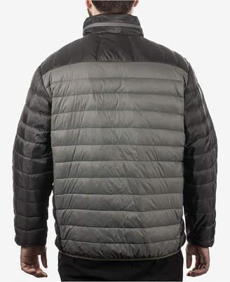 Hawke & Co Men Colorblocked Packable Down Jacket