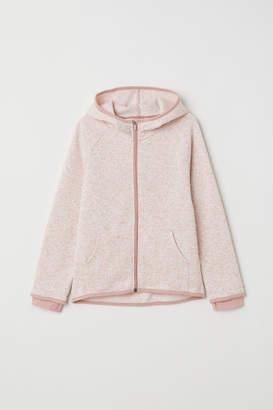H&M Knit Fleece Jacket - Pink