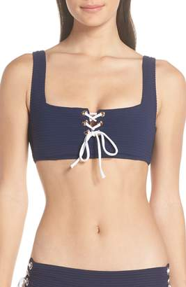Heidi Klein Carlisle Bay Lace Square Neck Bikini Top
