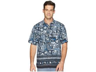 Tommy Bahama Veracruz Border Tiles IslandZone Camp Shirt