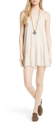 Women's Free People Tiny Tent Babydoll Dress $108 thestylecure.com