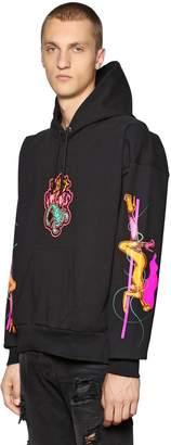 Diesel Lust Vegas Print Hooded Sweatshirt