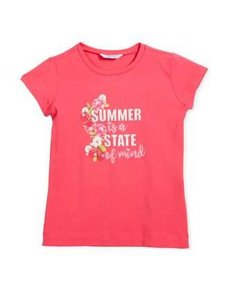 Mayoral Summer is a State of mind T-Shirt, Size 3-7
