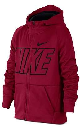 Nike Boys' Therma Full-Zip Graphic Training Hoodie - Big Kid