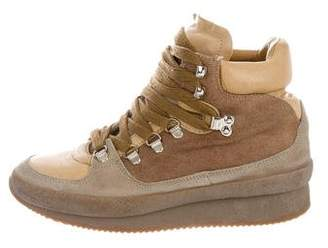 Isabel Marant Étoile Lace-Up Wedge Sneakers