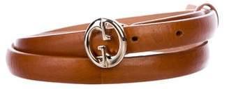 Gucci Skinny GG Belt