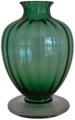 One Kings Lane Vintage Baccarat Crystal Vase - The Montecito Collection