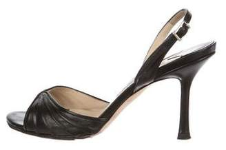 Jimmy Choo Nova Pat Leather Sandals