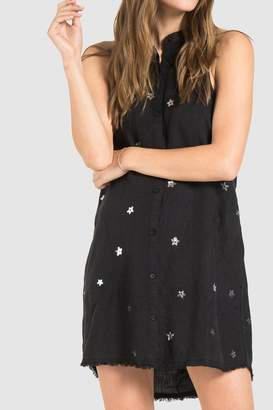 Bella Dahl Black Linen Dress