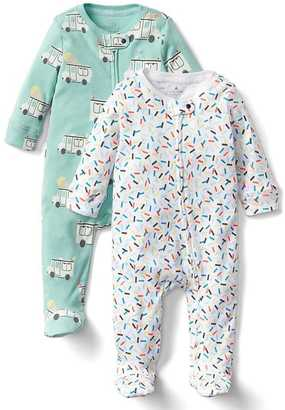 Ice cream zip footed one-piece (2-pack) $44.95 thestylecure.com