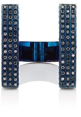 Black Diamond DAUPHIN Women's Double-Bar Ring - Blue
