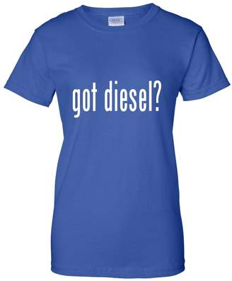 Diesel Go All Out Screenprinting Womens Got Diesel? Funny T-Shirt