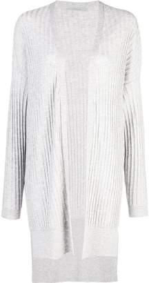 Dusan ribbed knit longline cardigan