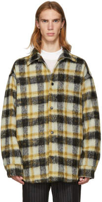 Cmmn Swdn Brown Oversized Check Sergey Shirt