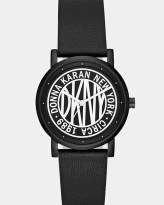DKNY Soho Black Analogue Watch