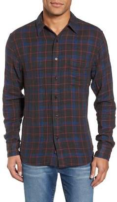 Faherty BRAND Belmar Plaid Reversible Long Sleeve Trim Fit Shirt