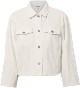 Elizabeth and James Branson White Denim Jacket