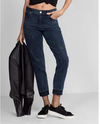 Express high waisted dark wash original vintage skinny jean