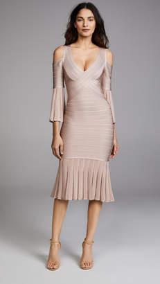 Herve Leger Autumn Dress