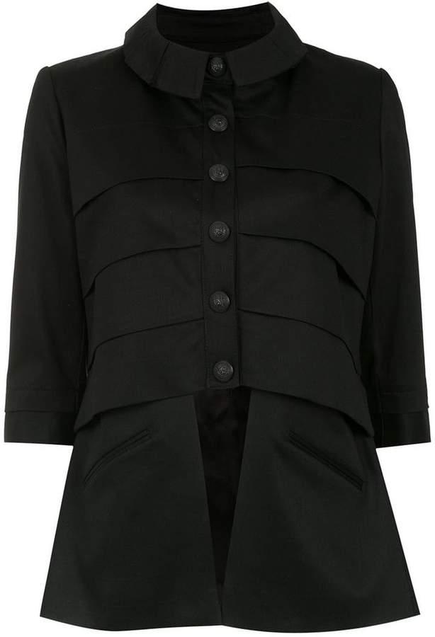 Andrea Bogosian panelled jacket