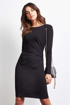 1b80b1372c919 at Next · Next Womens Lipsy Long Sleeve Knot Detail Dress