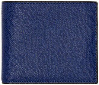 Valextra Blue 6CC Wallet