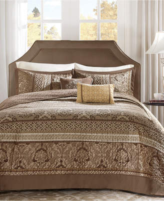 Madison Park Bellagio 5-Pc. Quilted Queen Bedspread Set