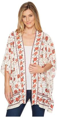 Miss Me Floral Print Cardigan Women's Sweater