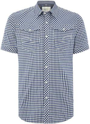 G Star Men's G-Star Arc 3D regular fit check poplin shirt