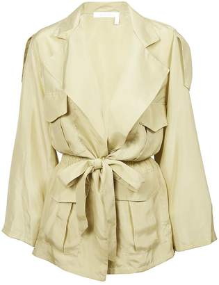 See by Chloe Tie On Waist Trench
