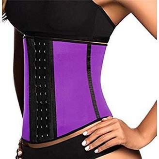 Igia Corset Waist Cincher and Body Sculpting Belt - Purple (XL)