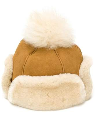 UGG shearling-lined cap